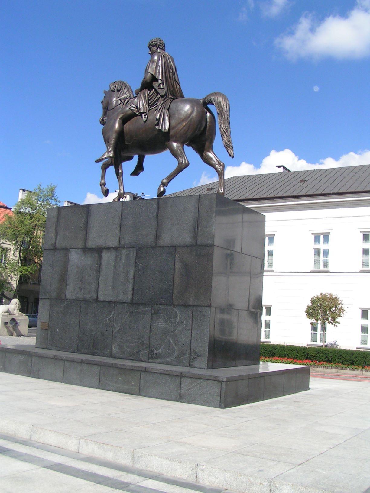 Pomnik Księcia Janusza Poniatowskiego